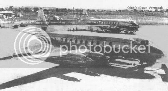 Viscount, Ndola Airport 1959