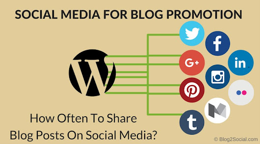 How Often To Share Your Blog Post On Social Media For Blog Promotion