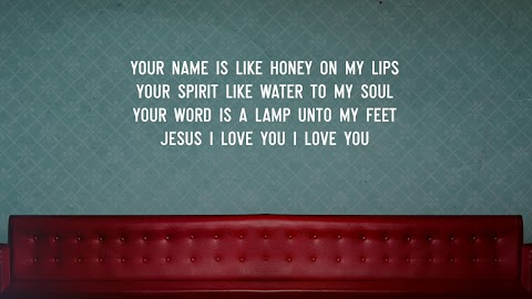 Holy And Anointed One Lyrics Hillsong