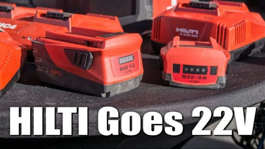 Hilti 22V Battery Pack Video Overview
