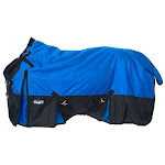 Extreme 1680D Waterproof Poly Turnout Sheet 81inch, Royal Blue