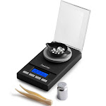Insten New 0.005g to 50g Mini Digital Scale Jewelry Gold Diamond Stone Metal Pocket Support weight Unit: g oz ozt dwt ct gn)(Included Small Container