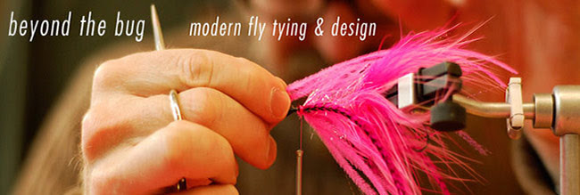 beyond the bug | modern fly tying & design