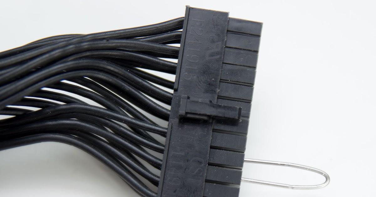 24 Pin Psu Cable Wiring Diagram