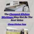 Cheapest Kitchen Worktops