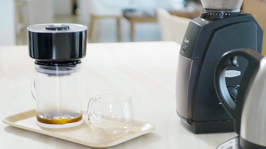 FrankOne: One-touch speciality coffee brewer - Inceptive Mind