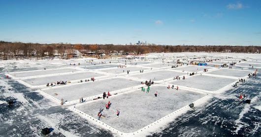 Ice, Beer, Blood: Three Days of Pond Hockey's 'Field of Dreams'