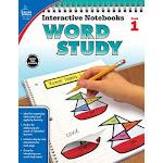 Carson Dellosa CD-104947 Word Study Book Grade 1