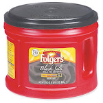 Folgers 2.55002054E9 Coffee,black Silk,caff,ground
