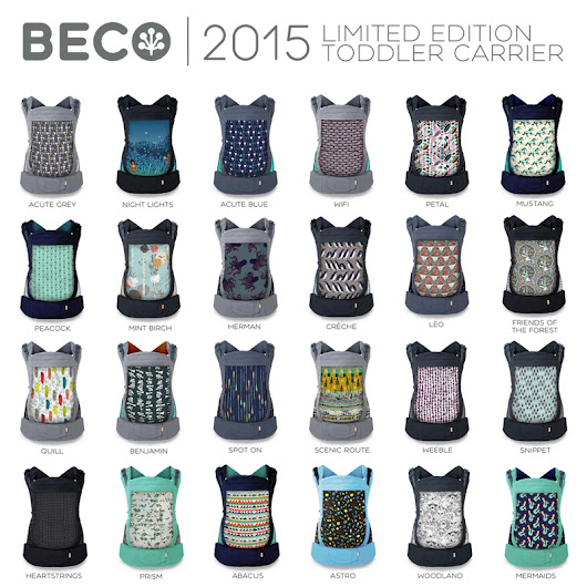 Beco Toddler Limited Edition 2015 Collection