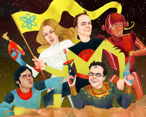 Big Bang Theory by Kevin Wada