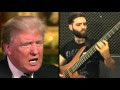 Guy With A Bass 'Covers' Donald Trump Saying China Montage - Video