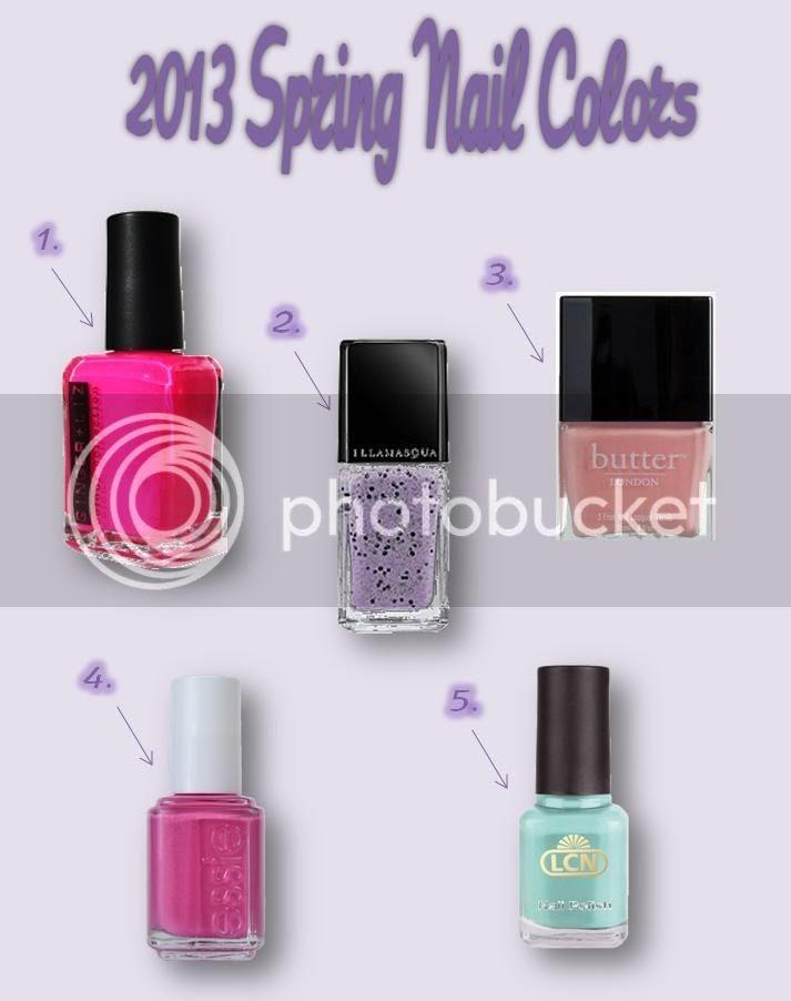 Friday Fixation: Spring Nails
