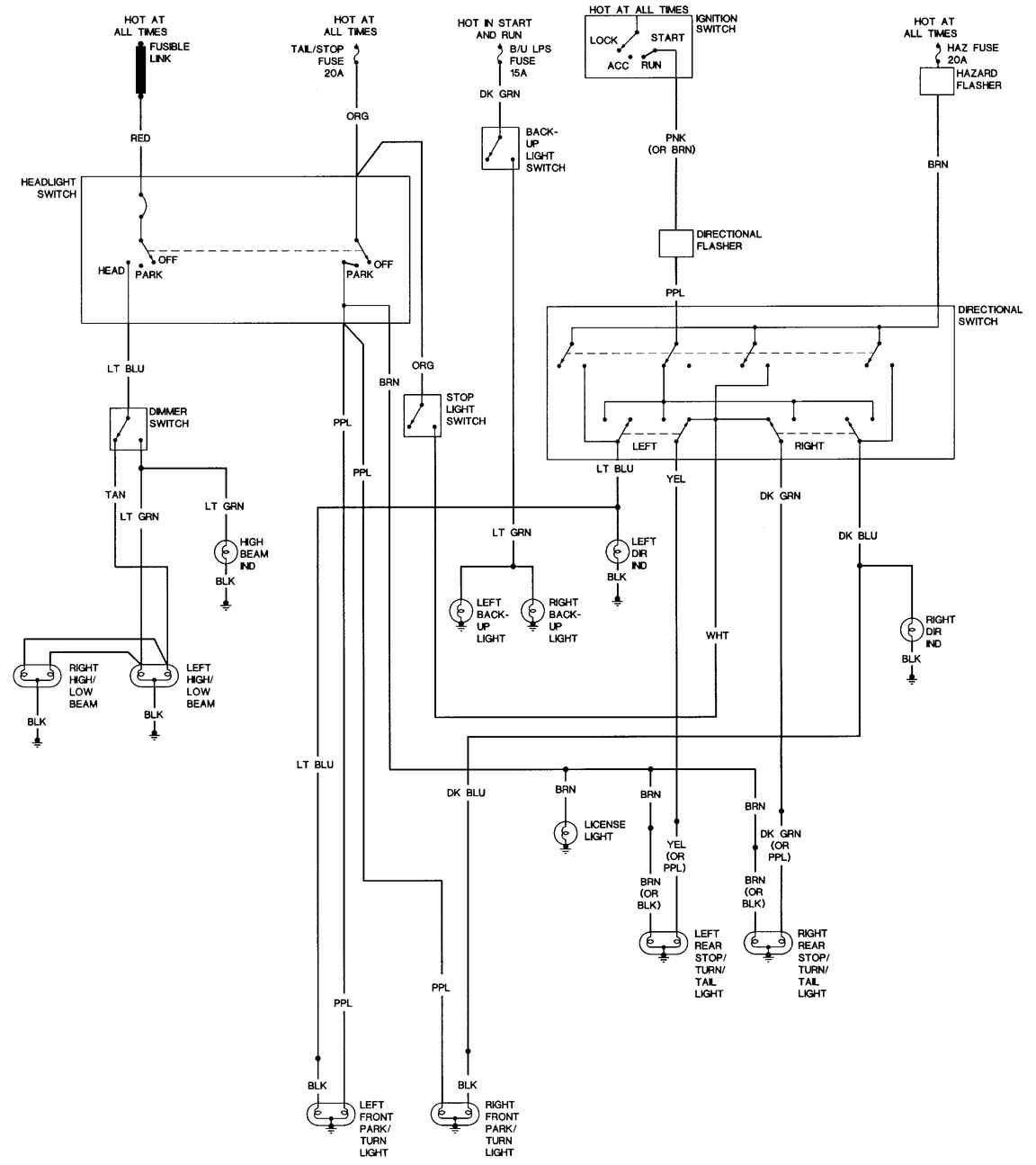 2000 Chevrolet Express Wiring Diagram 04 Gm Trailer Wiring Diagram Bege Wiring Diagram