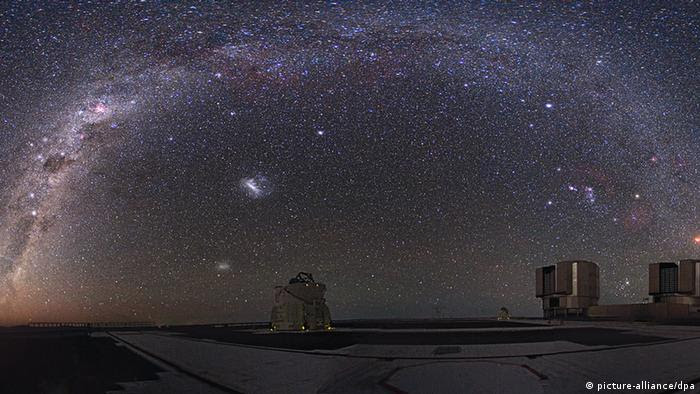 Sky over the European Southern Observatory (ESO) in Chile (Photo: Picture alliance/ dpa)