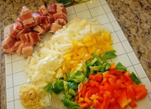Ingredients for Cuban Congri