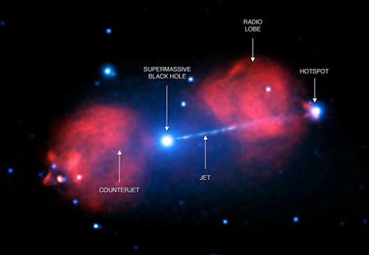Astronomers Discover a Supermassive Black Hole Capturing X-Rays
