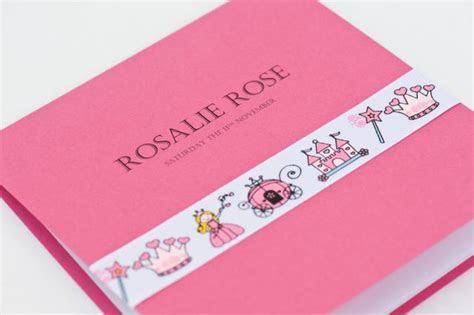 SAMPLE Rosalie Little Princess Christening Invitations
