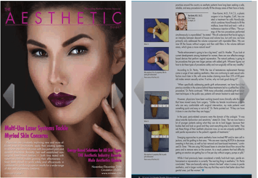GirthMax™ Featured in The Aesthetic Magazine - Perito Urology