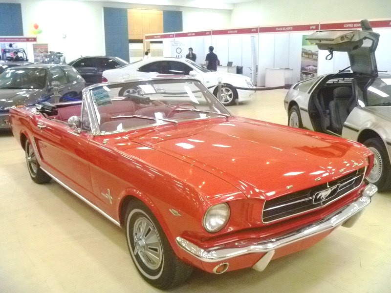 Mustang Convertible-1