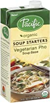 Pacific Natural Foods Organic Vegetarian Pho Soup Starter, 32-Ounce Boxes (Pack of 12)