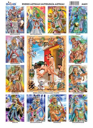 Dioses Aztecas Mitología Azteca