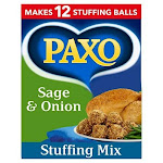Paxo Sage & Onion Stuffing - 170grams - (6 Ounces)(pack Of3) By British Food Supplies