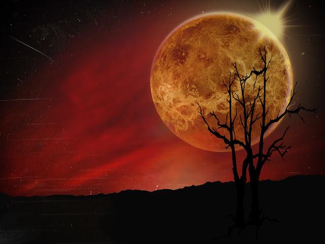 Background ~ Venusian Sunset