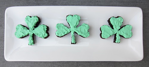 Shamrock Whiskey Cake