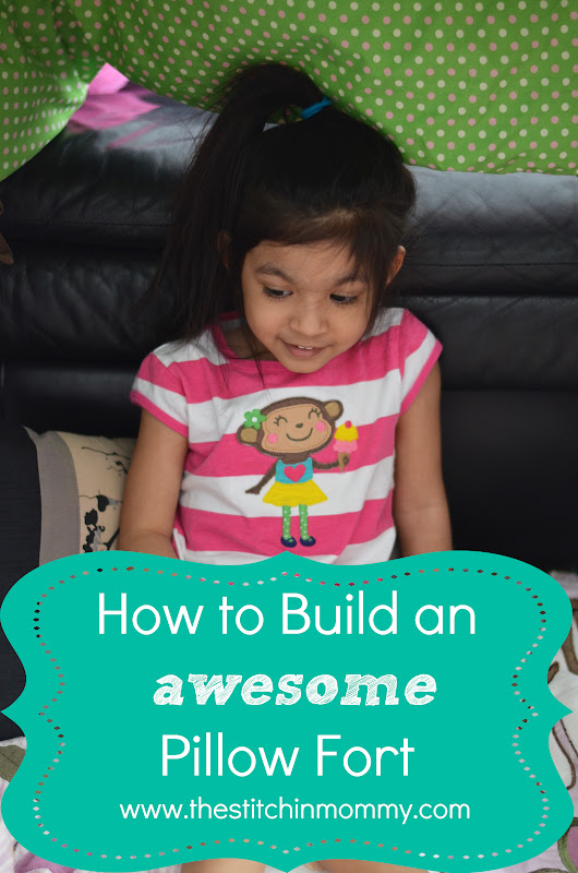 How to Build an Awesome Pillow Fort with Pop Secret - The Stitchin Mommy