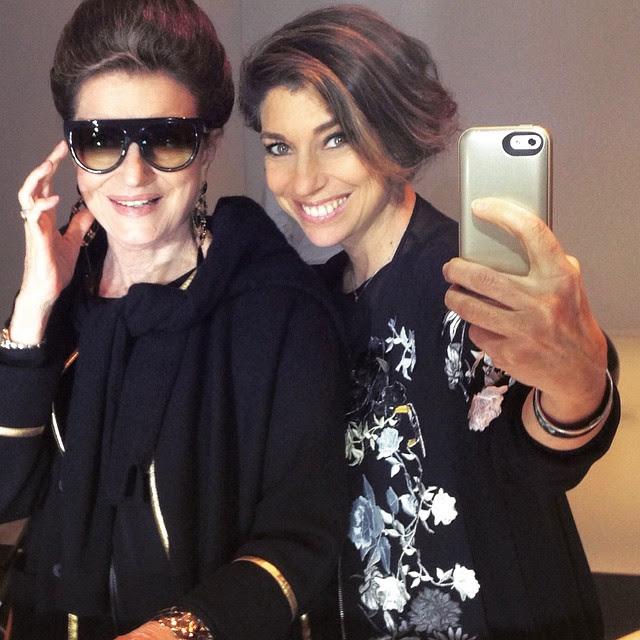 Selfie mãe e filha!!