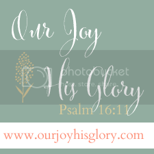 Our Joy His Glory