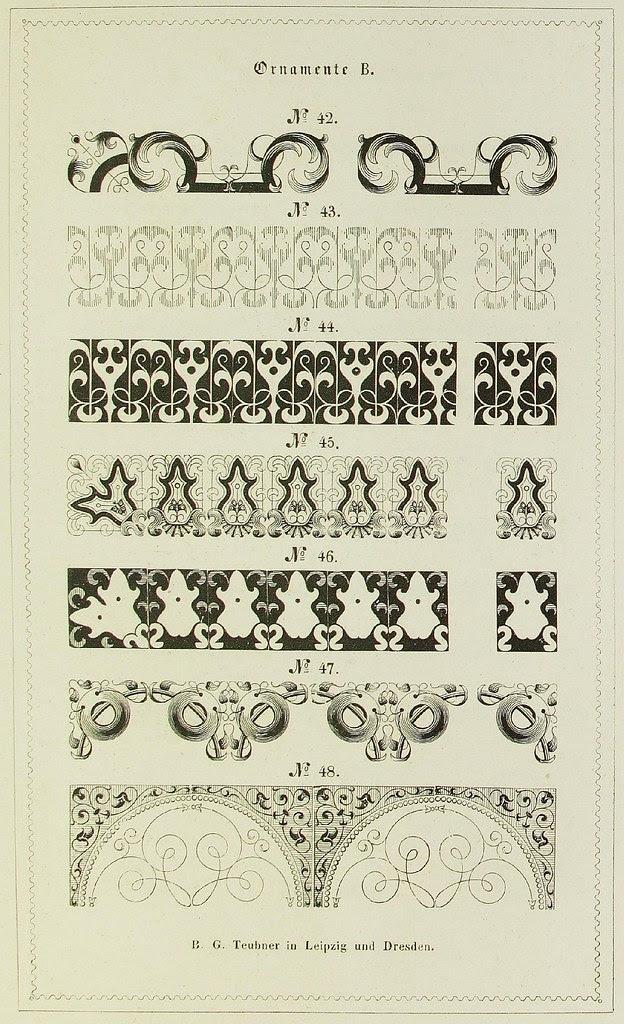 Schrift- und Polytypen-Proben BG Teubner, 1846 h