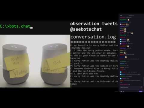 seebotschat - Knowing each other - YouTube