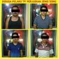 Diduga Terlibat Perjudian, 3 Pria dan 1 Perempuan di Rohul Ini Diamankan Polisi