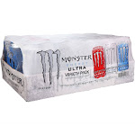 Monster Energy Drink, Ultra Variety Pack (16 oz. cans, 24 ct