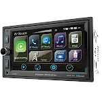 Power Acoustik CP650 6.5 in. D.Din Multimedia Receiver with Apple Car Play