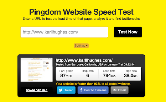 Sub 1-Second Page Load Time in WordPress | Karl L. Hughes