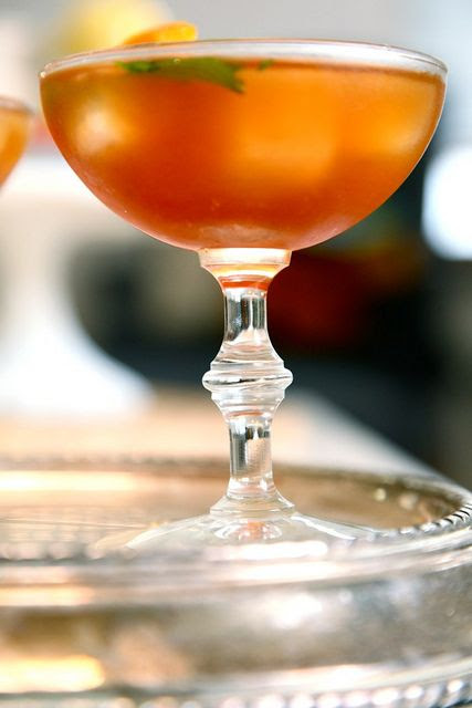 sweet tea bourbon cocktail