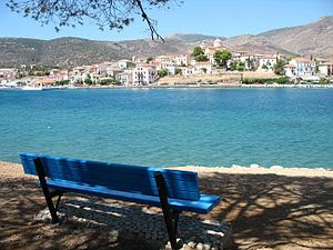 View of Galaxidi, Greece