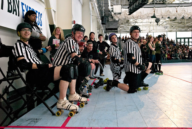 the refs are amused