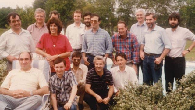 Reunión en Baltimore, en los inicios de la actividad satelital