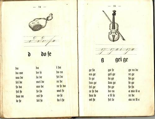 Old German School Book 1899