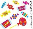 Halloween Candy - stock vector