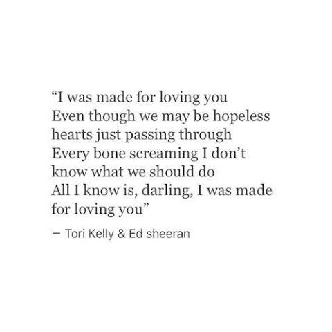 I Was Made For Loving You Lyrics Tori