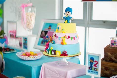 Kara's Party Ideas Girly Pocoyo Birthday Party Planning
