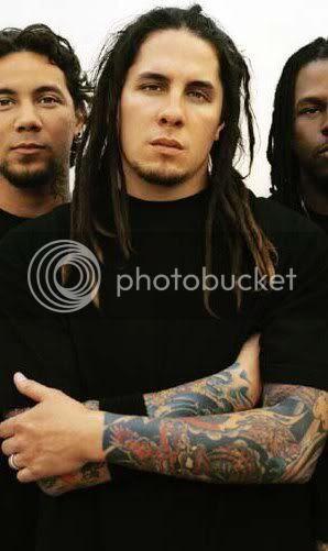 Sonny Sandoval's Dreadlocks Hairstyle