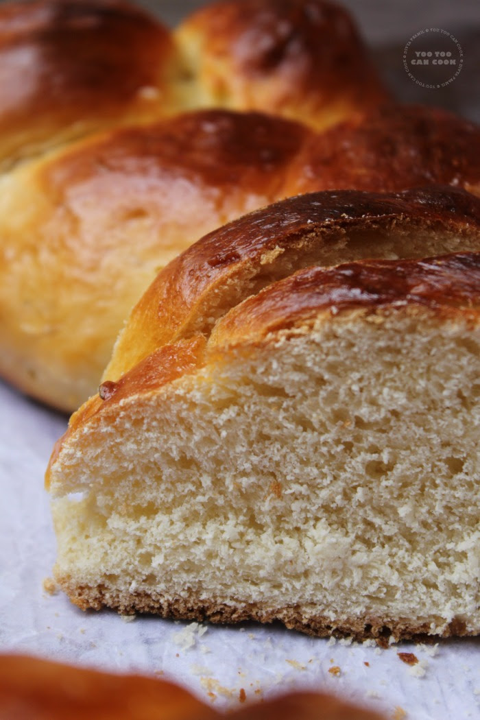Jewish Challah Bread 3 Braid Challah Bread Holiday