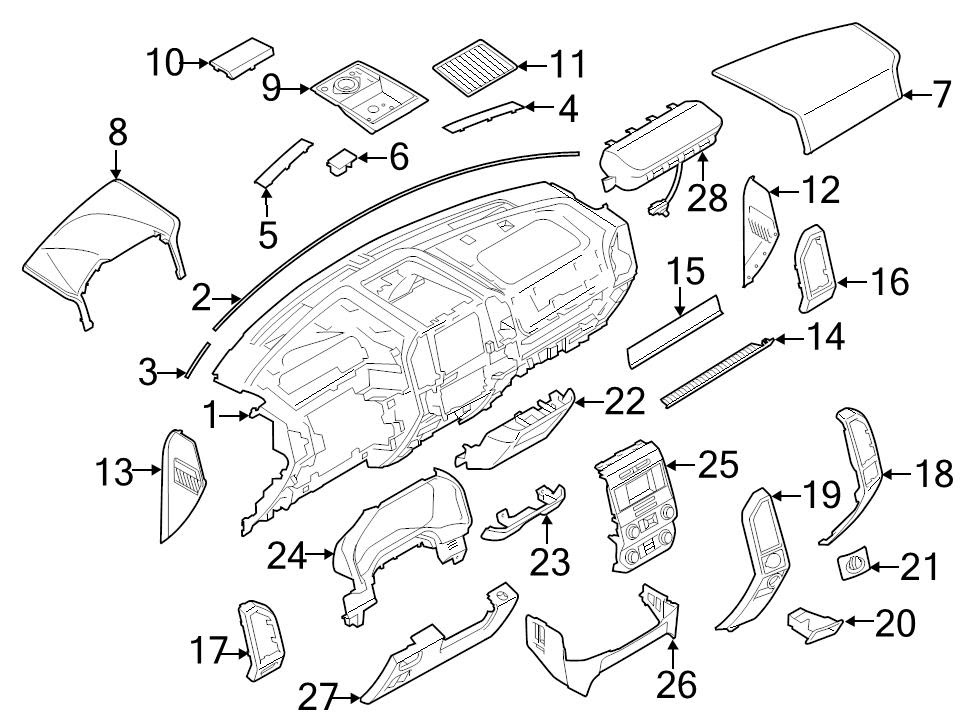 Wiring Diagram: 29 2015 Ford F150 Parts Diagram