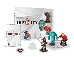 DISNEY INFINITY Starter Pack Wii (including Davy Jones and Power Disc Pack)